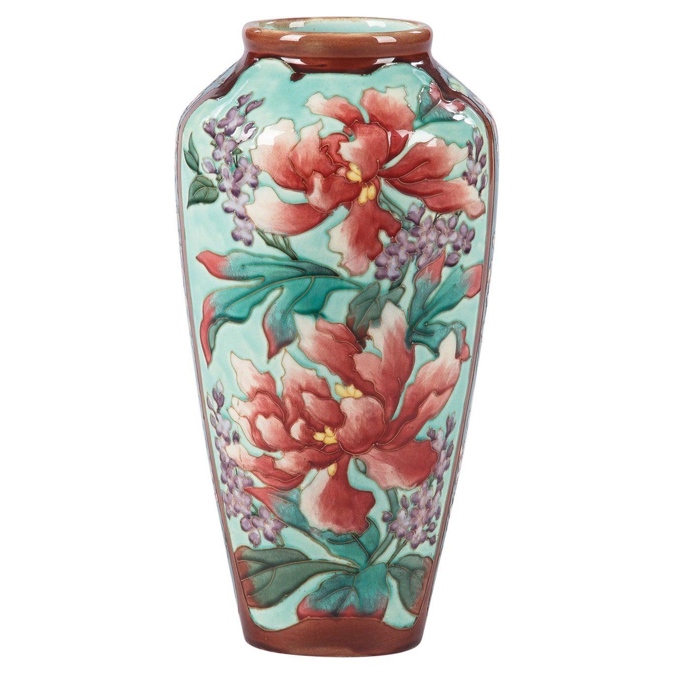 Longchamp Majolica Ceramic Vase, 1900s