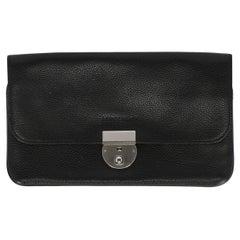 Longchamp Woman Handbag  Black Leather