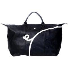 Longchamp X Mr. Bags Le Pliage Cuir Year of Pig Travel Bag