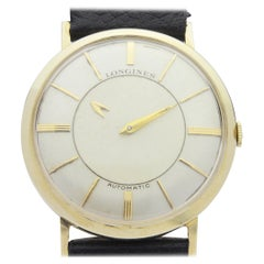 Longines 14 Karat Yellow Gold Mystery Dial Watch