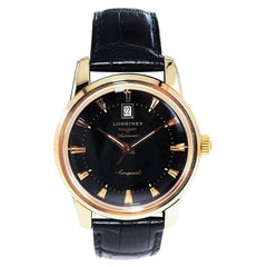 Longines 18kt Rose Gold Conquest Automatic Never Worn in Box