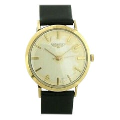 Longines Admiral No-Ref#, Ivory Dial, Certified and Warranty