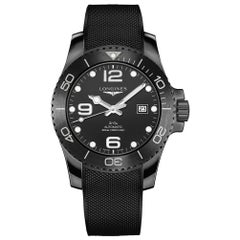 Longines All-Black Ceramic HydroConquest Automatic Men's Watch 37844569