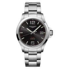 Longines Conquest V.H.P. Black Dial Men's Watch 37264566