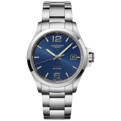 Longines Conquest V.H.P. Blue Dial Men's Watch 37264966