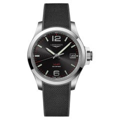 Longines Conquest V.H.P. Stainless Steel Men's Watch 37164569