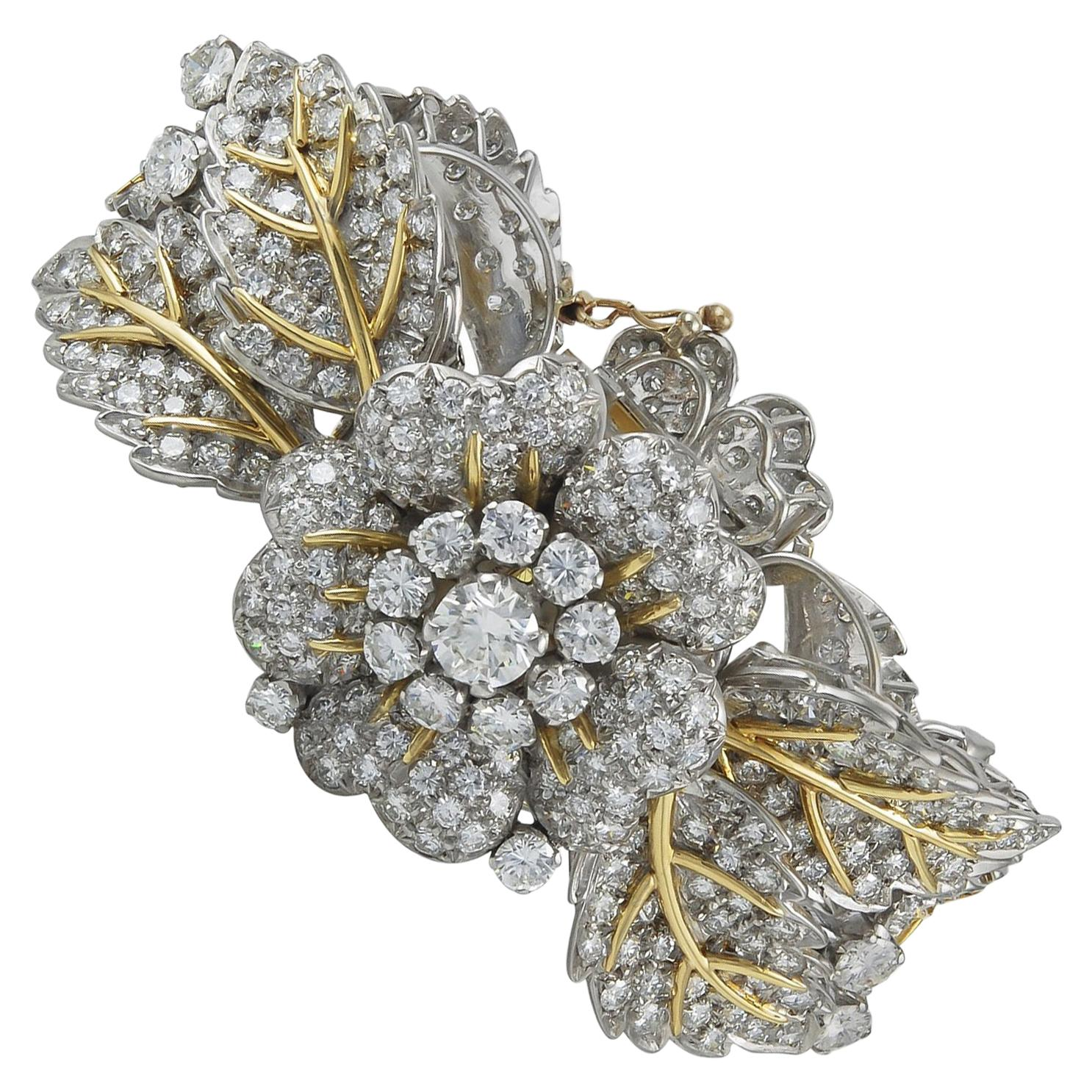Longines Diamond Garland Convertible Watch Bracelet