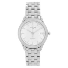 Longines Flagship Stainless Steel White Dial Automatic Mens Watch L4.774.4.12.6