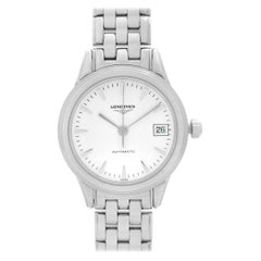 Longines Flagship Steel White Dial Ladies Automatic Watch L4.274.4.12.6