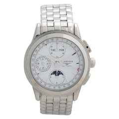 Longines Flagship Triple Date Moonphase, Ref L47504146, Box & Papers