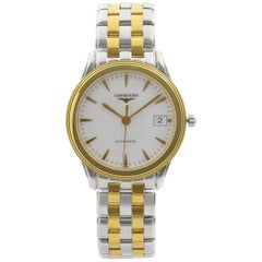 Longines Flagship Two-Tone Steel White Dial Men's Watch L4.774.3.22.7