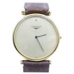 Longines Gentlemans Gold Plated Dress Watch