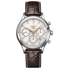 Longines Heritage Chronograph Watch 27504762