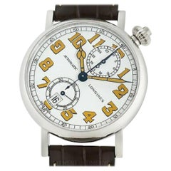 Longines Heritage L2.812.4.23.2, White Dial, Certified and Warranty