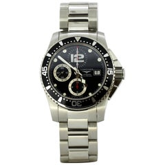 Longines, Hydro Conquest, Automatic Chronograph Men's Wristwatch L3.644.4