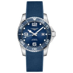 Longines HydroConquest Ceramic Blue Dial Automatic Diving Watch 37814969