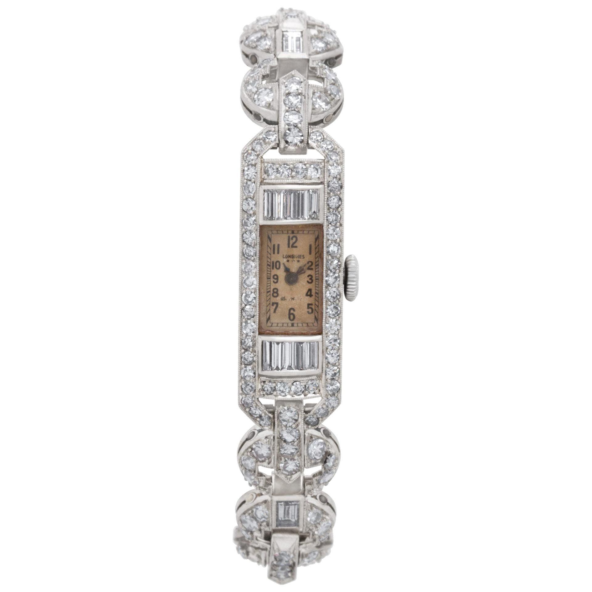 Longines LDS Platinum Manual Watch