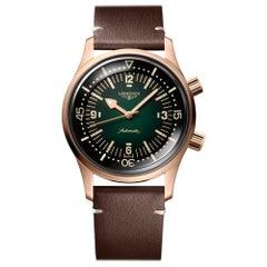 Longines Legend Diver Bronze Green Dial L37741502