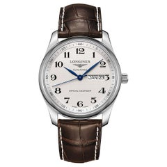 Longines Master Automatic Silver Dial Annual Calendar Watch L29104783