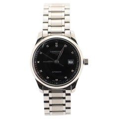 Longines Master Collection Automatic Watch Stainless Steel with Diamond Markers