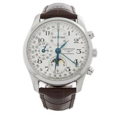 Longines Master Collection Moonphase Stainless Steel Men's 26734783