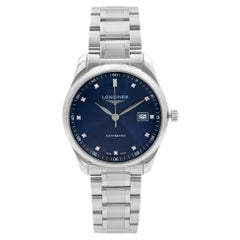 Longines Master Collection Steel Blue Dial Mens Watch L2.793.4.97.6