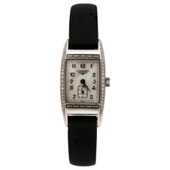Longines Mother of Pearl Stainless Steel BelleArti L2 Women's Wristwatch 19mm