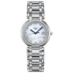 Longines PrimaLuna Stainless Steel Ladies Watch 81120876