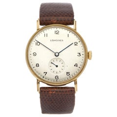 Longines Vintage Men's Yellow Gold Watch