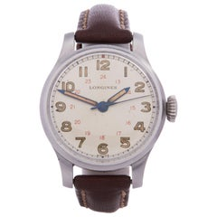 Longines Vintage Stainless Steel Wristwatch
