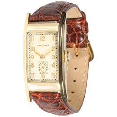 Longines Vintage Women's Watch in 14 Karat Yellow Gold