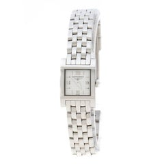 Longines White Stainless Steel Dolce Vita L5.161.4 Women's Wristwatch 16 mm