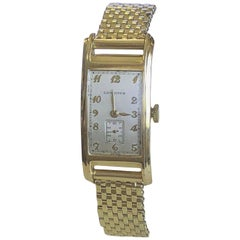 Longines Yellow Gold Art Deco Manual Bracelet Watch, 1943