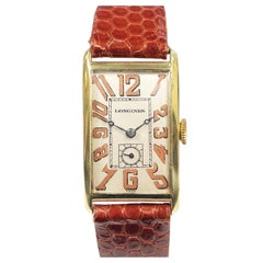 Longines Yellow Gold Art Deco Wristwatch
