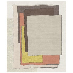 Look, Is That Eileen? Hand-Tufted Wool and Viscose Rug