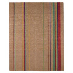 Loop East Ultra Thin Striped Rug by Deanna Comellini 200x250 cm