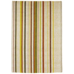 Loop West Striped Natural Fibers Rug by Deanna Comellini for G.T.Design