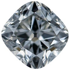 Loose Diamond, Cushion Cut .91 Carat GIA H SI2 Solitaire