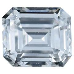Loose Diamond, Emerald Cut 1.01 Carat GIA F SI1 Solitaire