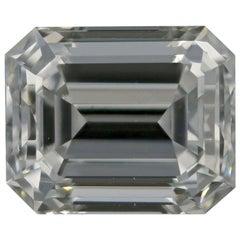 Loose Diamond, Emerald Cut 1.36 Carat GIA VS1 H Solitaire