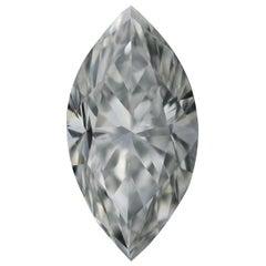 Loose Diamond, Marquise Cut .72 Carat GIA VS2 G Solitaire