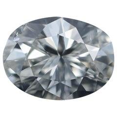 Loose Diamond, Oval Cut .98 Carat GIA SI1 H Solitaire