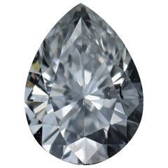 Loose Diamond, Pear Cut .45 Carat GIA I1 G Solitaire