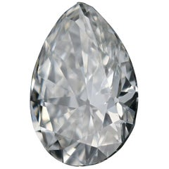 Loose Diamond, Pear Cut .59 Carat GIA G VS1 Solitaire