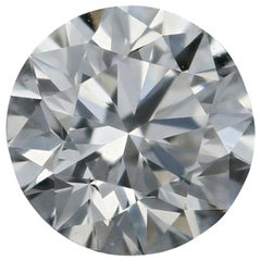 Loose Diamond, Round Brilliant Cut 1.00 Carat GIA Excellent Cut VVS2 F Solitaire