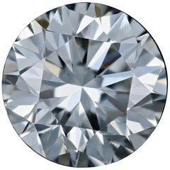 Loose Diamond, Round Brilliant Cut 1.09 Carat GIA H VS2 Solitaire