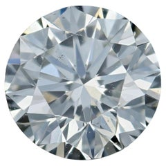 Loose Diamond, Round Brilliant Cut 1.25ct GIA J SI1 Triple Excellent Solitaire