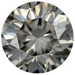 Loose Diamond, Round Brilliant Cut 1.30 Carat GIA S-T VS2 Solitaire