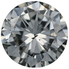 Loose Diamond, Round Brilliant Cut 1.41 Carat GIA H SI2 Solitaire