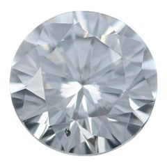 Loose Diamond, Round Brilliant Cut .36 Carat GIA Graded SI2 D Solitaire